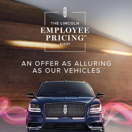 The Lincoln Employee Pricing Event